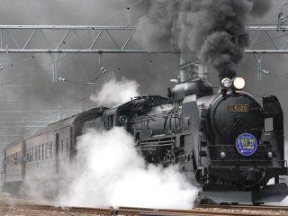 kereta api berbahan bakar uap