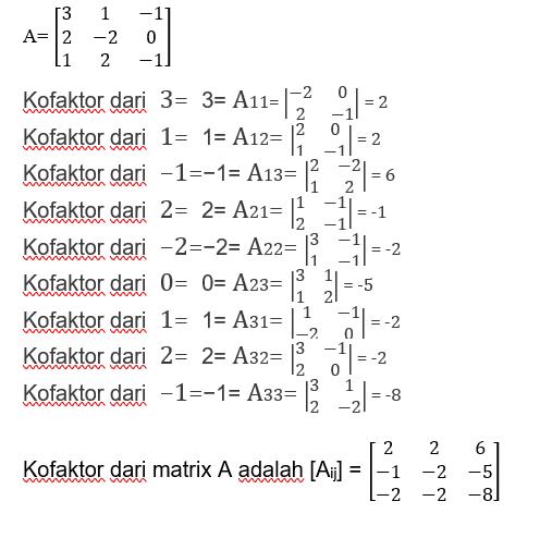 O que é uma matriz adjacente
