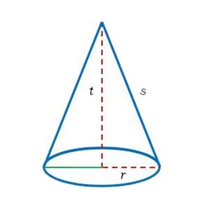 construir o espaço do cone
